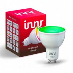 INNR - Connected bulb type GU10 - ZigBee 3.0 RGBW + White adjustable