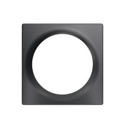 FIBARO - Plaque de finition simple Walli Anthracite