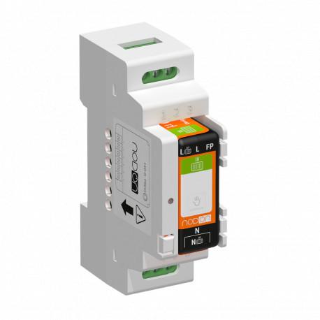 NODON - DIN Rail Box V2 for Relay Switches (5 units)