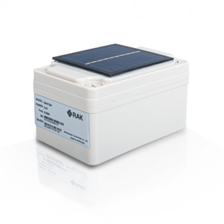 RAK - Sonde extérieure LoRa temp/hum/baromètre EU868+Panneau solaire