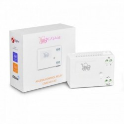 CASA.IA - Zigbee access control module (6-24V DC) - Dry contact and delayed at 2 seconds