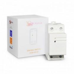 CASA.IA - Rail-Din 32A relay and Zigbee energy meter