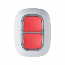AJAX - Double bouton programmable radio (panique ou action) blanc