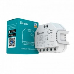 SONOFF - 2 channel WIFI ON/OFF smart switch + power metering