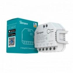 SONOFF - Commutateur intelligent WIFI 2 canaux + mesure consommation