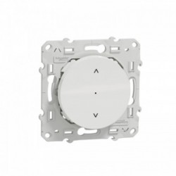 SCHNEIDER ELECTRIC - Connected shutter wall switch Zigbee 3.0 Wiser white