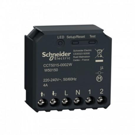 SCHNEIDER ELECTRIC - Micromodule volet roulant connecté Zigbee 3.0 Wiser