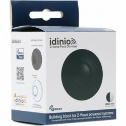 IDINIO - Z-Wave+ LED Foot Dimmer (black + white)