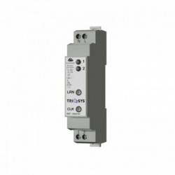 TRIO2SYS - DIN rail receiver 2 LED channels with power monitoring