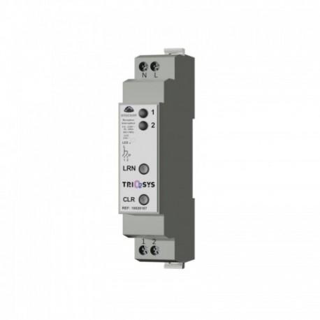 TRIO2SYS - Récepteur modulaire 2 canaux LED avec comptage EnOcean