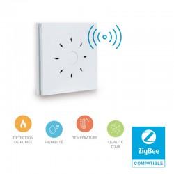 NEXELEC - Détecteur de fumée DAAF Zigbee + Température/Humidité