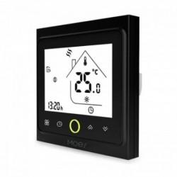 MOES - Zigbee Black Smart Thermostat for 3A Hydraulic Floor Heating