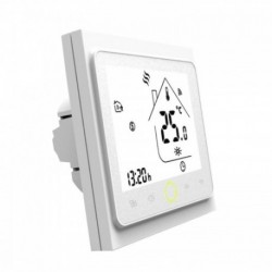 MOES - White Zigbee Smart Thermostat for Electric floor Heating 16A