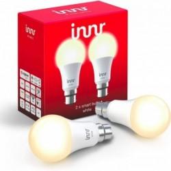 INNR - 2x Connected bulb type B22 - ZigBee 3.0 Warm white 2700K