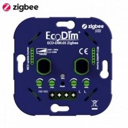 ECODIM - Dual smart LED rotary dimmer Zigbee 3.0 2x 100W ECO-DIM.05