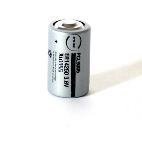 ENIX ENERGIES Pile lithium industrie ER14250 taille 1/2AA 3.6V 1.2Ah
