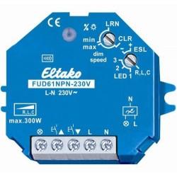 ELTAKO Radio actuator, variator, R,L,C,ESL and LED, recessed