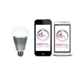 DIGITAL NATIVE Ampoule LED Blanche