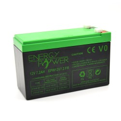 ENERGY POWER Batterie 12V 7.2AH