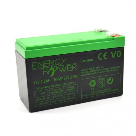 ENERGY POWER Batterie 12V 7.2AH