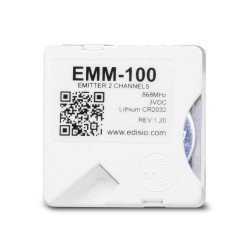 EDISIO - Transmitter micromodule extra slim - 2 channels