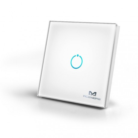 Mcohome Touch Panel Switch 1 Button Smarthome Europe