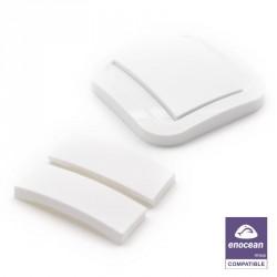 NODON Wireless and battery-less wall switch - Cozi White