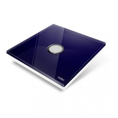 EDISIO - Cover Plate Diamond deep blue 1 Channel