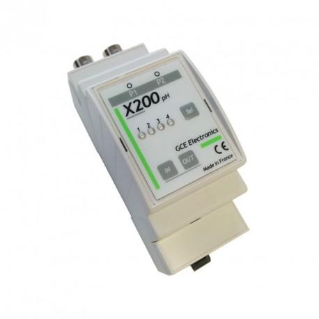 GCE ELECTRONICS - Module d'extension X200pH pour IPX800 V3
