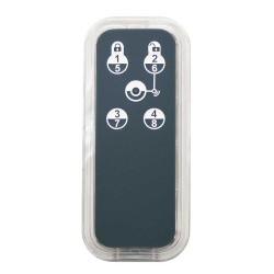ZIPATO - Télécommande 5 boutons Z-Wave Plus