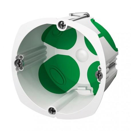 SCHNEIDER - boîte d'encastrement étanche Multifix Air 1 poste diamètre 67mm