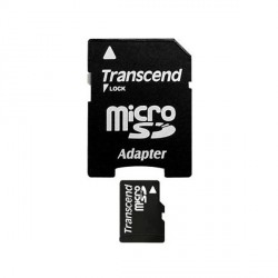 TRANSCEND - Carte Mémoire Flash MicroSDHC 8 Go Classe 10