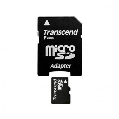 TRANSCEND - Carte Mémoire Flash MicroSDHC 8 Go Classe 10