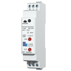 TRIO2SYS  Receiver 4 Chanels Rail DIN Multifunctions