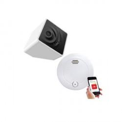 E-SYLIFE - Box domotique Le Kub + détecteur de fumée