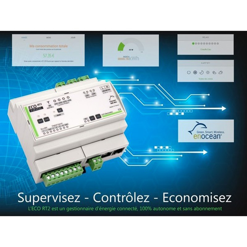 Gce Electronics Ip Energy Monitoring System Eco Devices