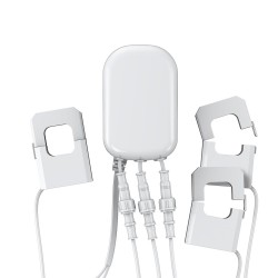 AEON LABS - Compteur de consommation électrique Z-Wave+, 3 pinces, 60A