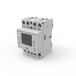 QUBINO - Module Rail DIN compteur d'énergie triphasé Z-Wave+