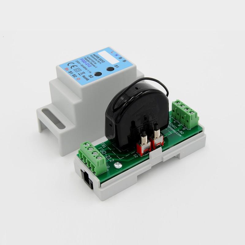 Eutonomy Adapter Din For Fibaro Dimmer Fgd 212 With Push
