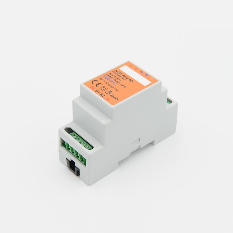 Eutonomy Adapter Din For Fibaro Relay Switch 3kw Fgs 212