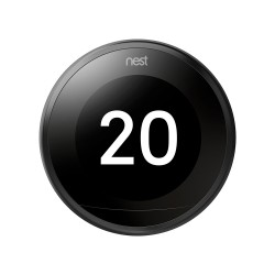 NEST - Nest Learning Thermostat 3rd generation Black