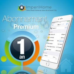 IMPERIHOME - ImperiHome Premium 1 year subscription