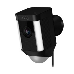 RING - Spotlight Cam Wired Black