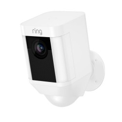 RING - Spotlight Cam Battery White