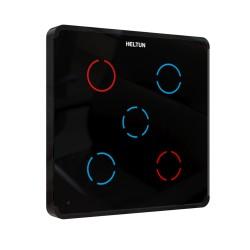 HELTUN -Interrupteur 5 canaux 5A Z-Wave+ Heltun Switcher (noir)