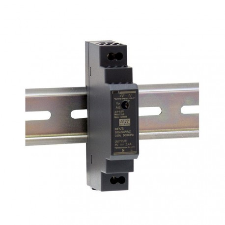 MEANWELL - 12V/1.25A Ultra slim DIN rail power supply