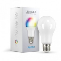 AEOTEC - Ampoule LED RGB Z-Wave+ LED Bulb 6 Multi-Colour