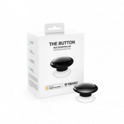 FIBARO - Contrôleur de scènes Fibaro Button Bluetooth HomeKit, noir