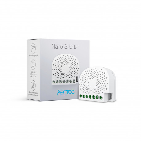 AEOTEC - Z-Wave+ Nano Shutter