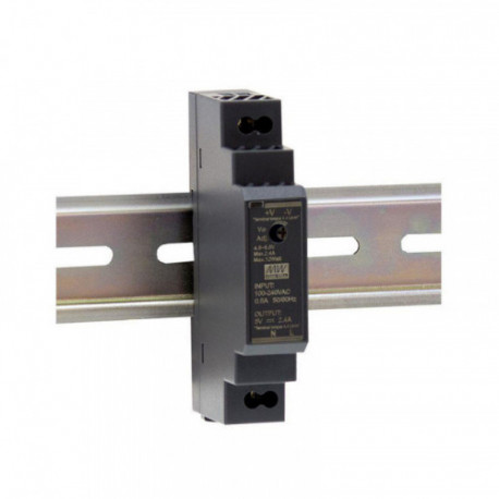 MEANWELL - Alimentation 5V/2,4A format Rail DIN